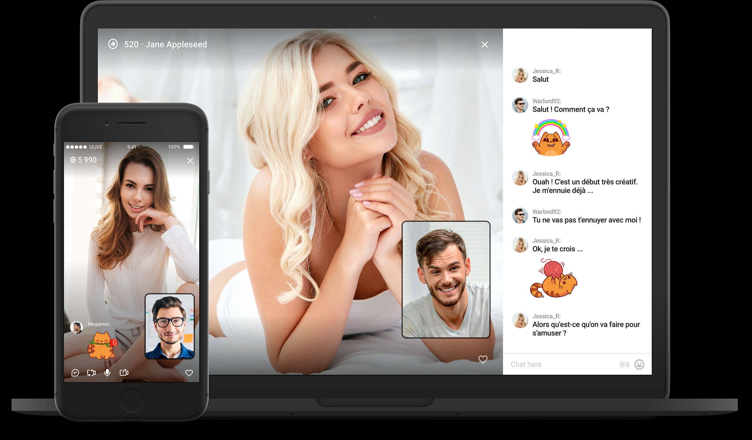 desktop video chat